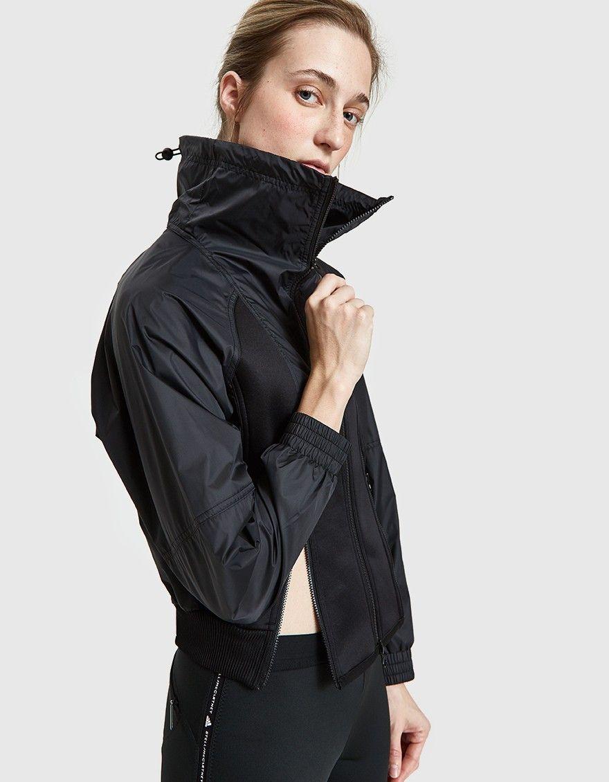 Adidas By Stella Mccartney Training Jacket In Black Stella Mccartney Adidas Jackets Stella Mccartney [ 1130 x 880 Pixel ]