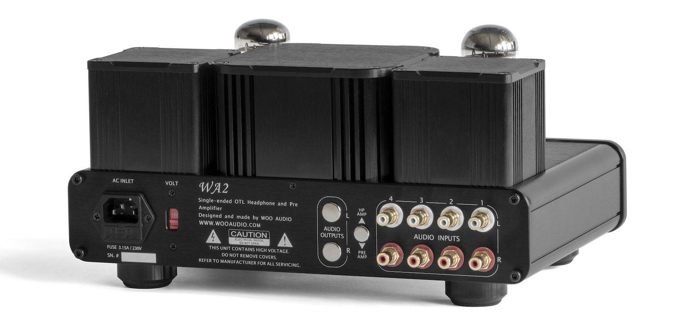 WA2 Headphone Amplifier — Woo Audio #audioheadphones