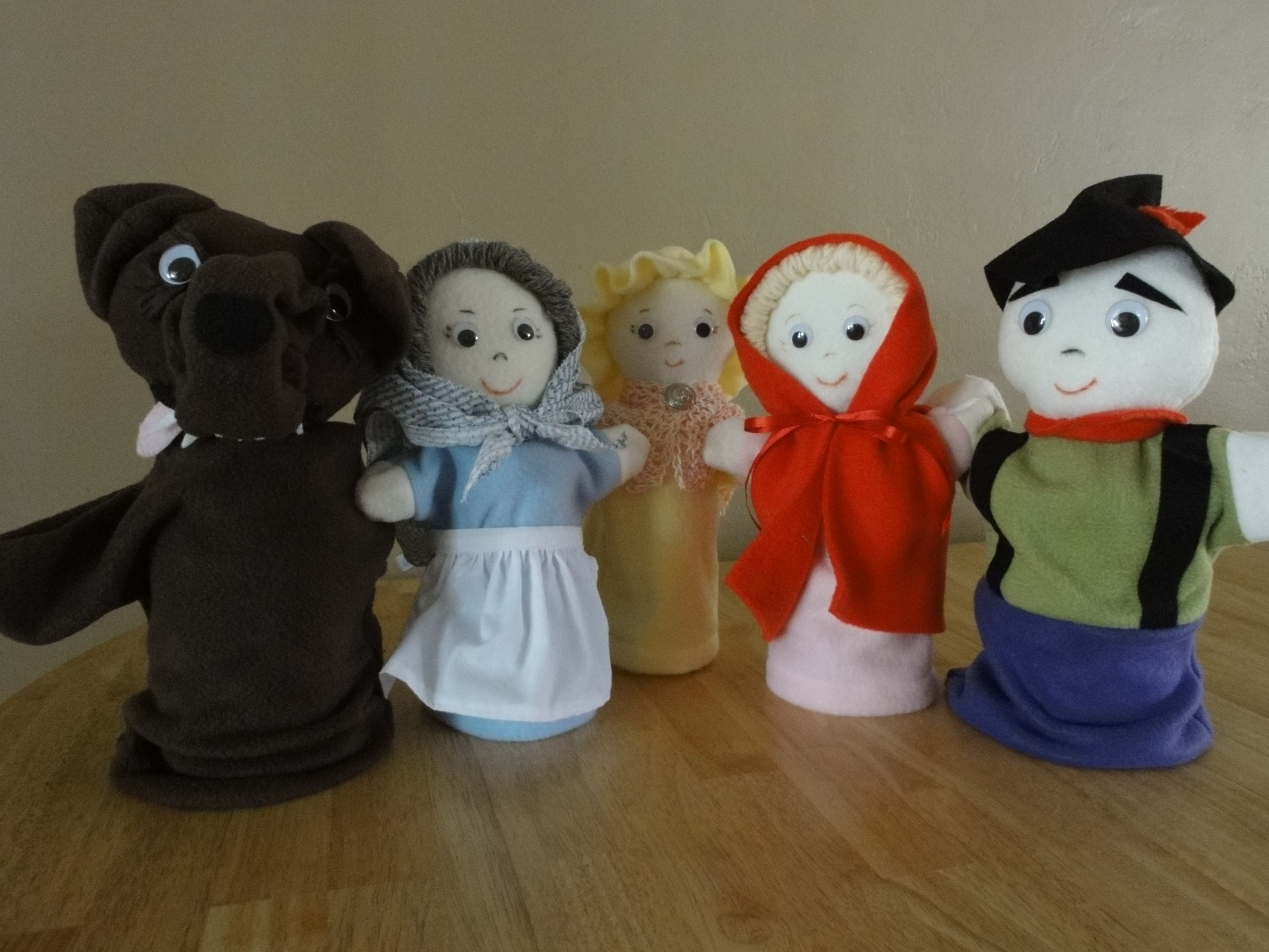 Our Spanish Class Put On A Puppet Show I Made These For