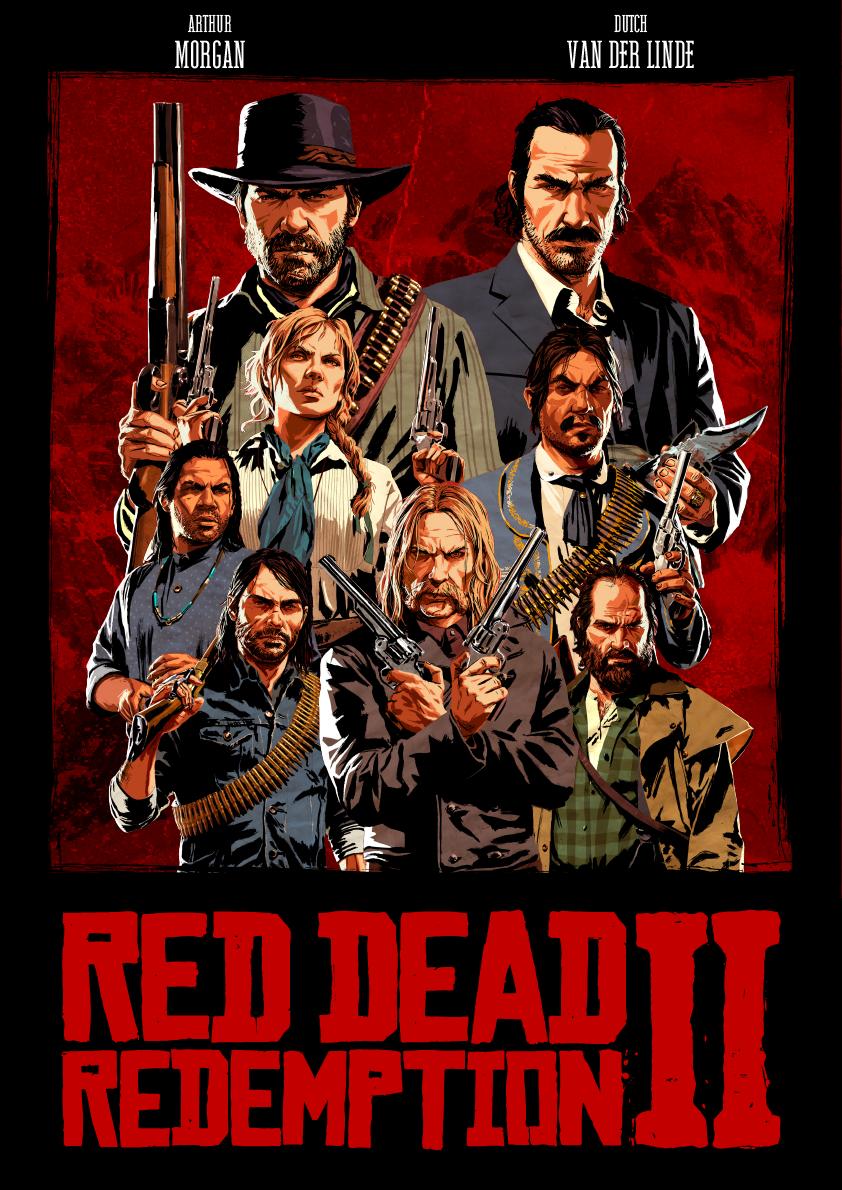 Poster De Los Hijos De Dutch Red Dead Redemption Art Red Dead Redemption Artwork Red Dead Redemption Ii