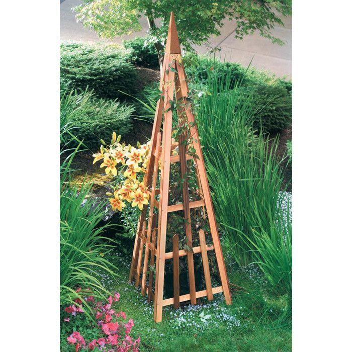 Ellington Pyramid Garden Trellis Steel garden