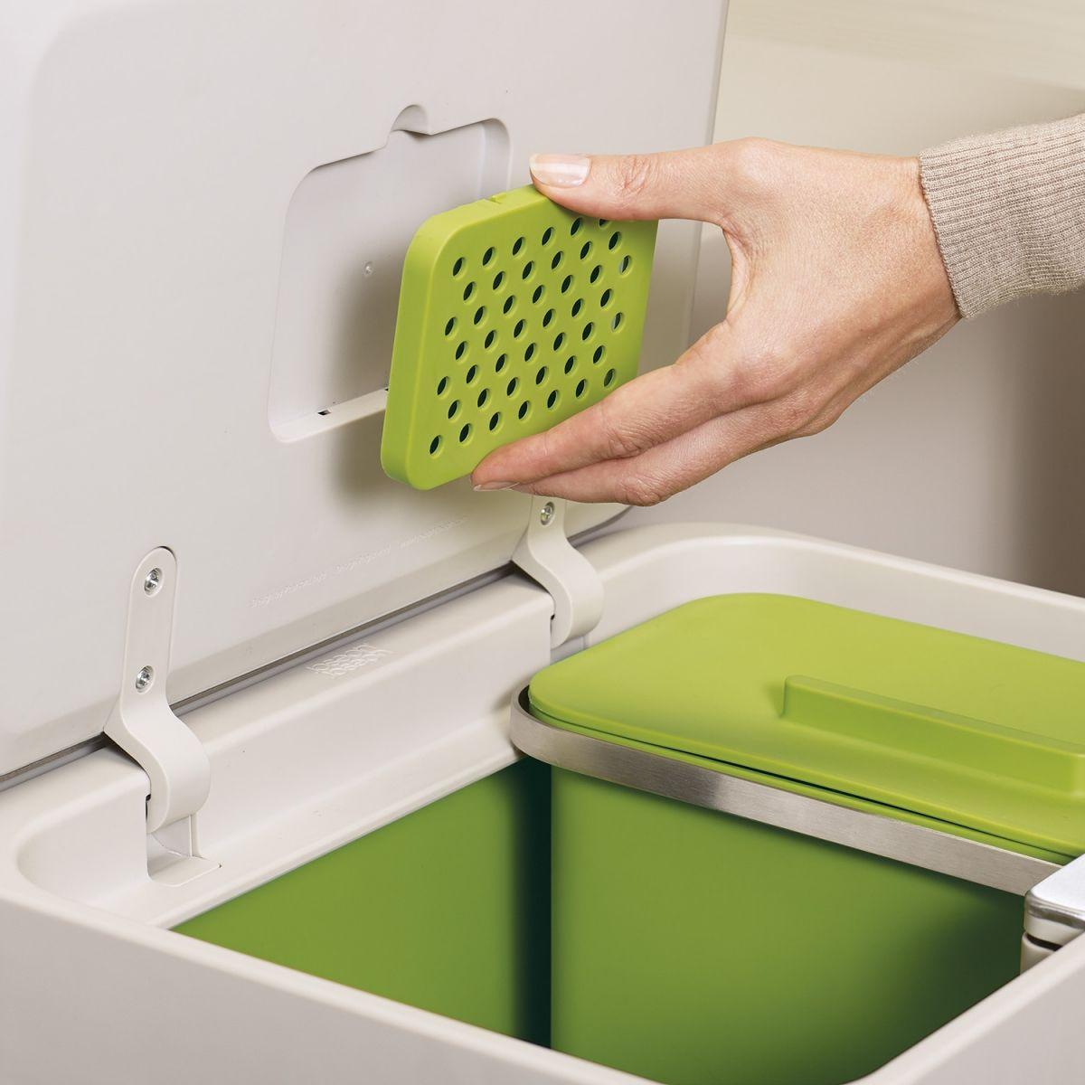 2 Filtres Anti Odeurs Pour Poubelle Totem Intelligent Waste 30005