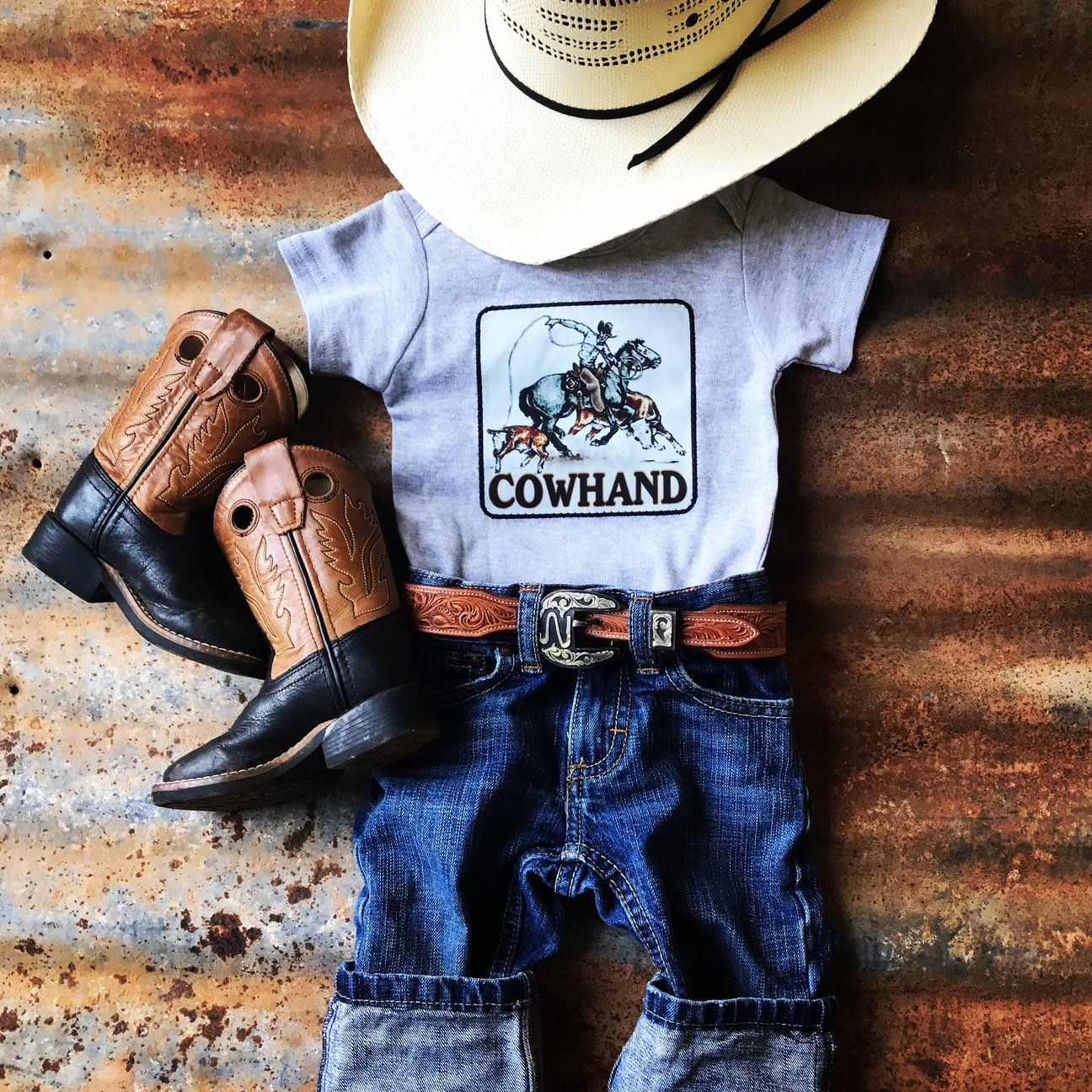 Boy Onesies - Cowkid Clothing Company | Cowboy baby ...