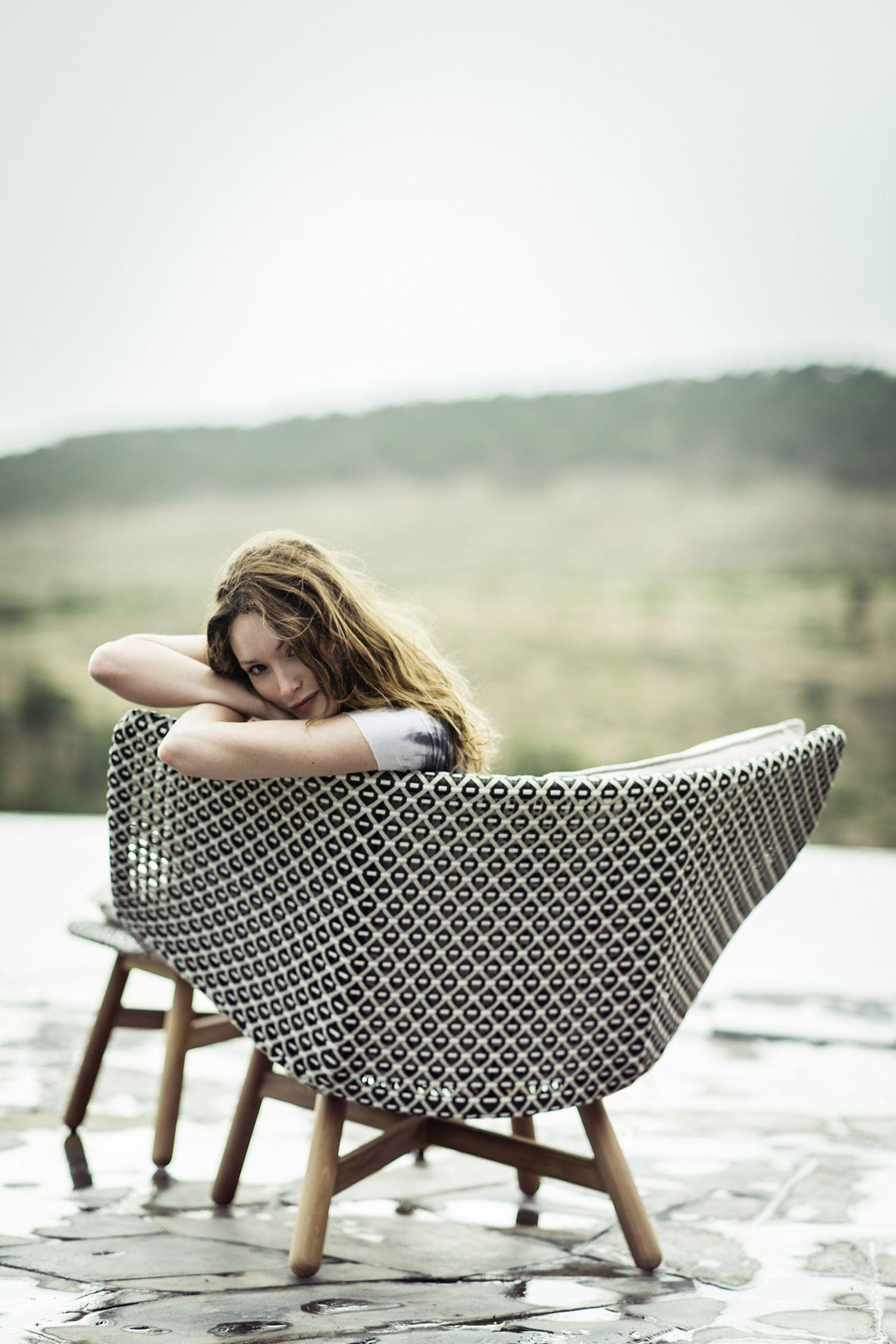 MBRACE Garden armchair Mbrace Collection by Dedon design Sebastian