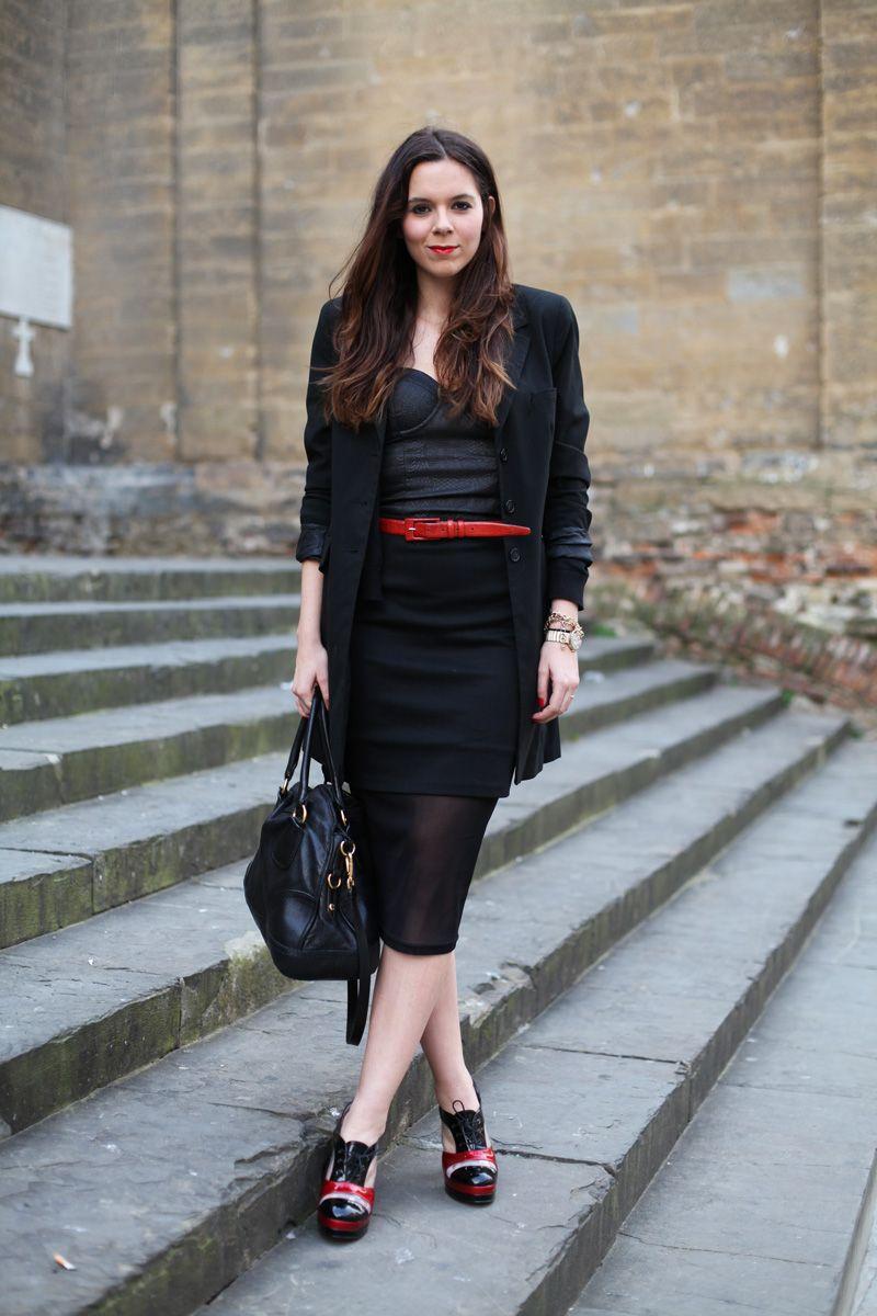 rivenditore online b2a6b 8c3ae informazioni per fa198 8b357 outfit gonna longuette nera ...