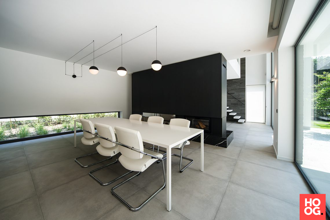 Imore interieur architectuur moderne villa antwerpse kempen