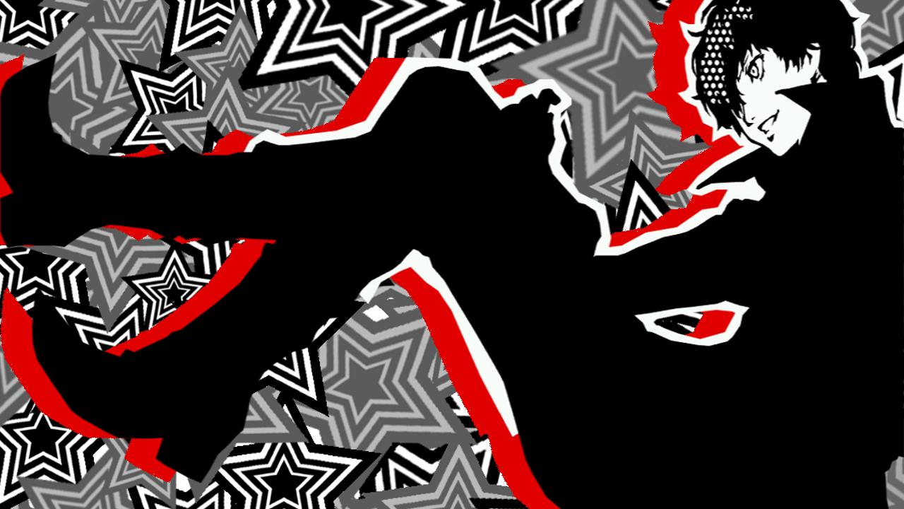 1 Ryuji Fan Mobile Headers Using The Joker Art From The Menus Joker Art Akira Kurusu Star Background