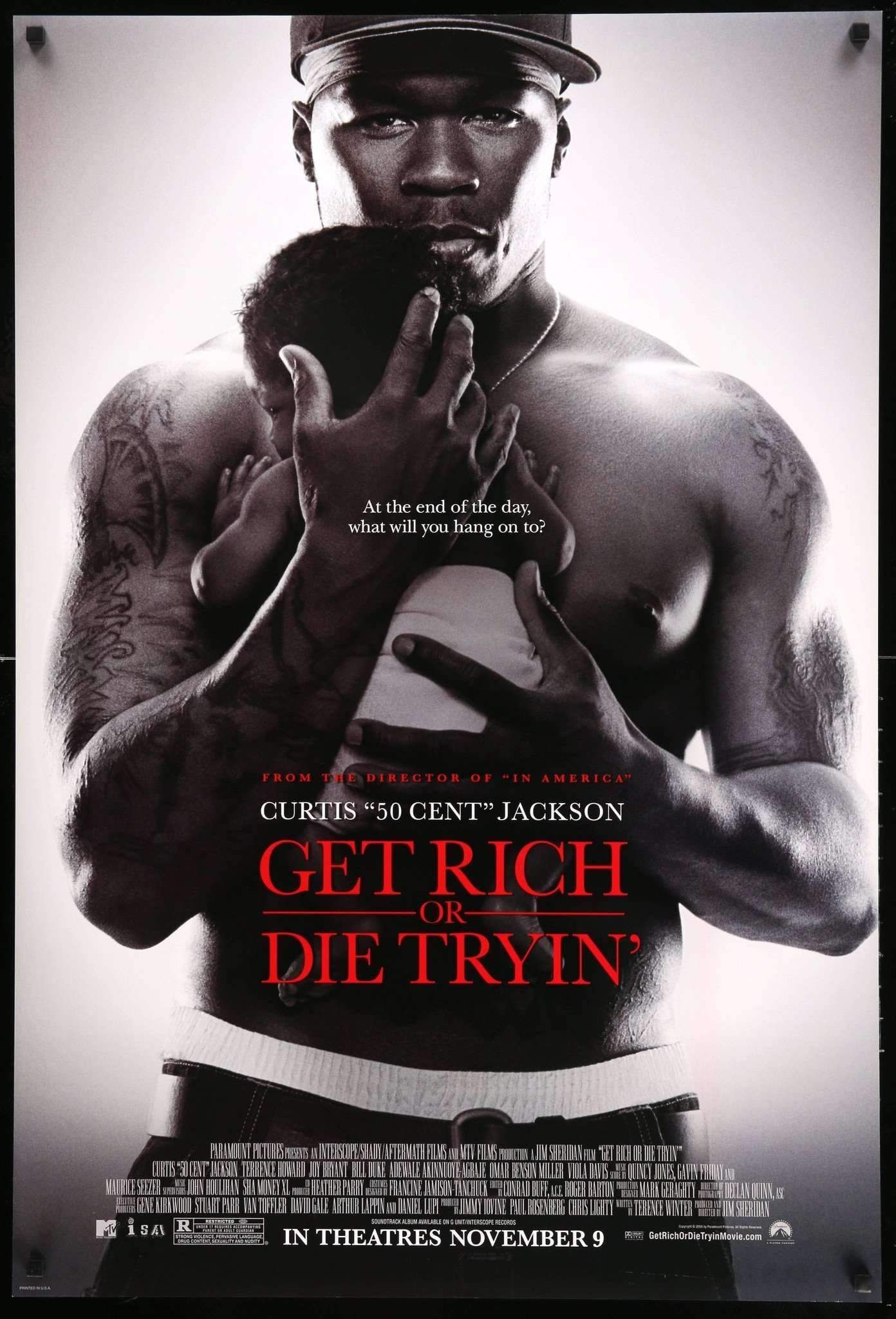 Get Rich Or Die Tryin 2005 In 2021 How To Get Rich Inspirational Movies Full Movies