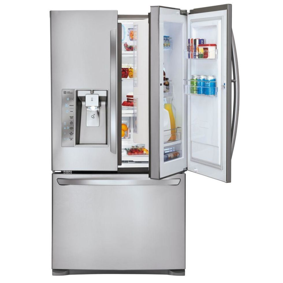french door refrigerators with enough space for all your