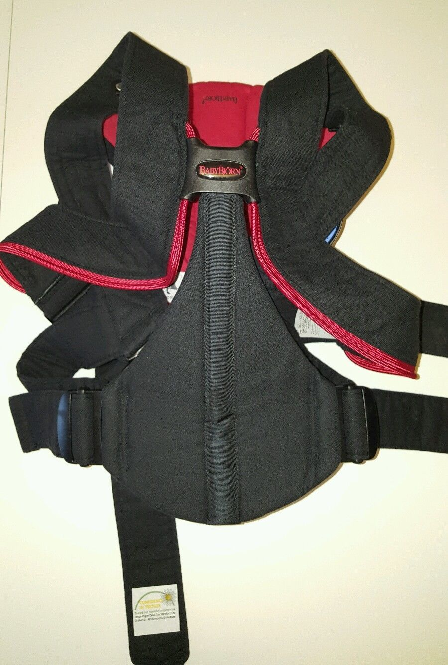 bc2a72e0821 Baby Bjorn Active Baby Carrier with Lumbar Back Support Black and ...