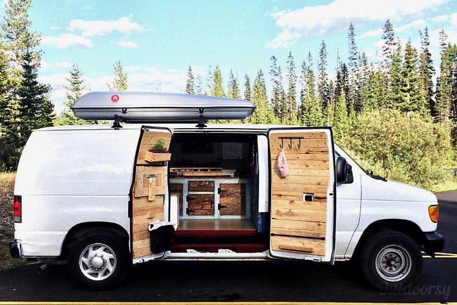 Exterior Skibum Discount Camper Van Ford Econoline Calgary Ab Van Camper Van Ford Van