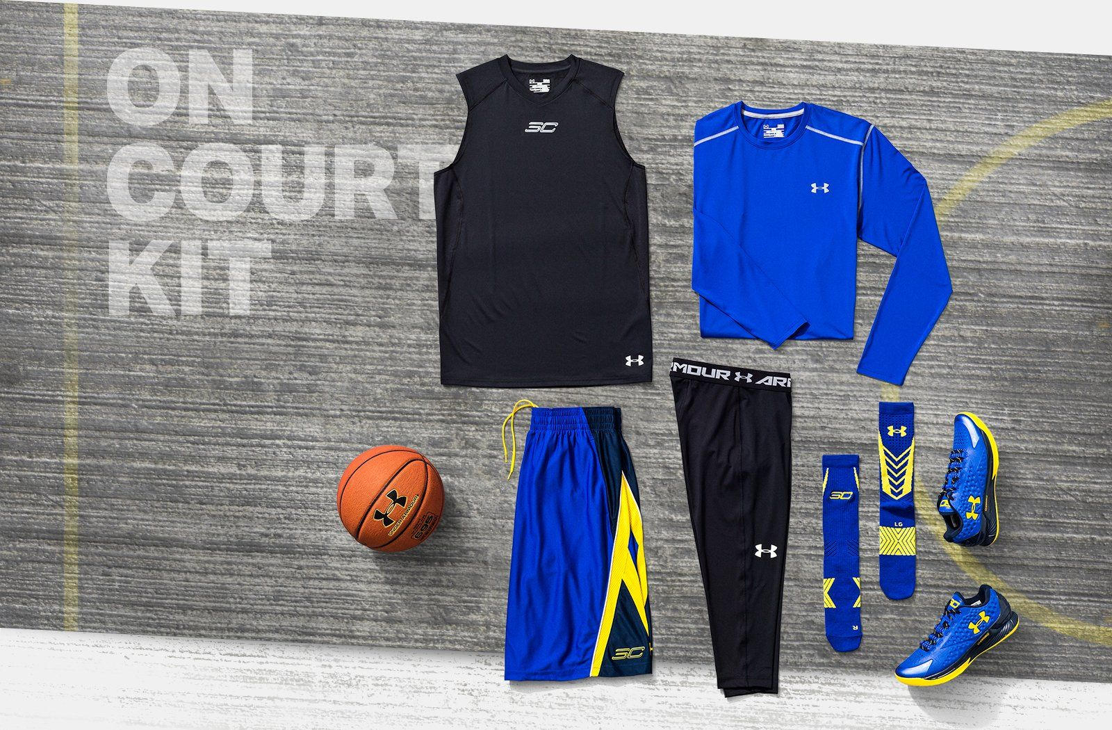 new styles e0679 79e7f On court kit. | Under Armour | Stephen curry shirts, Under ...