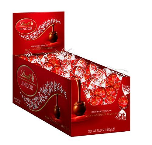 Lindt Lindor Milk Chocolate Truffles 120 Count For More