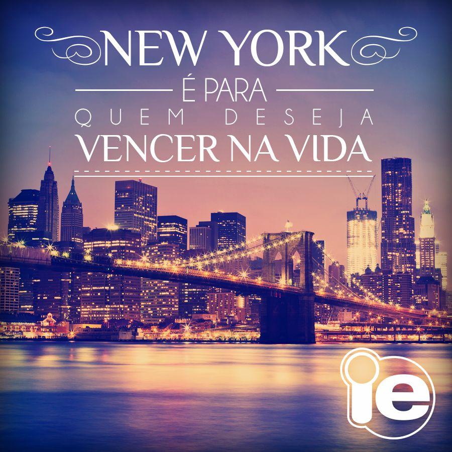 Esse é o desejo da maioria das pessoas que escolhem New York!