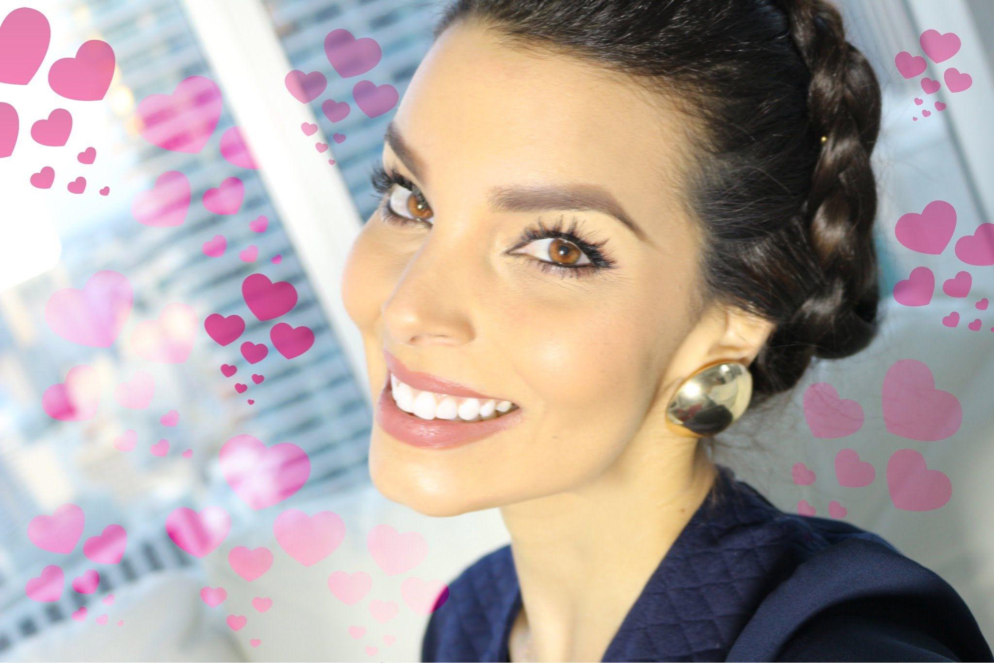 Corona De Trenzas Peinado Romantico Para San Valentin Para - Peinados-romanticos-con-trenzas