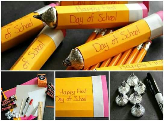 Süße Idee nicht nur zum Schulanfang