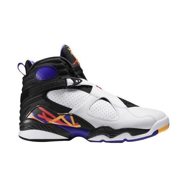 Jordan Retro 8 Men's ($190) ❤ liked on Polyvore featuring men's fashion