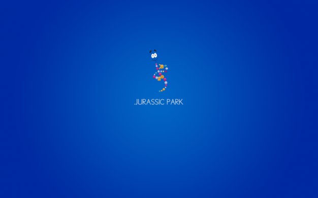 Minimalist Movie Wallpapers (Jurassic Park) by Pascal Richon