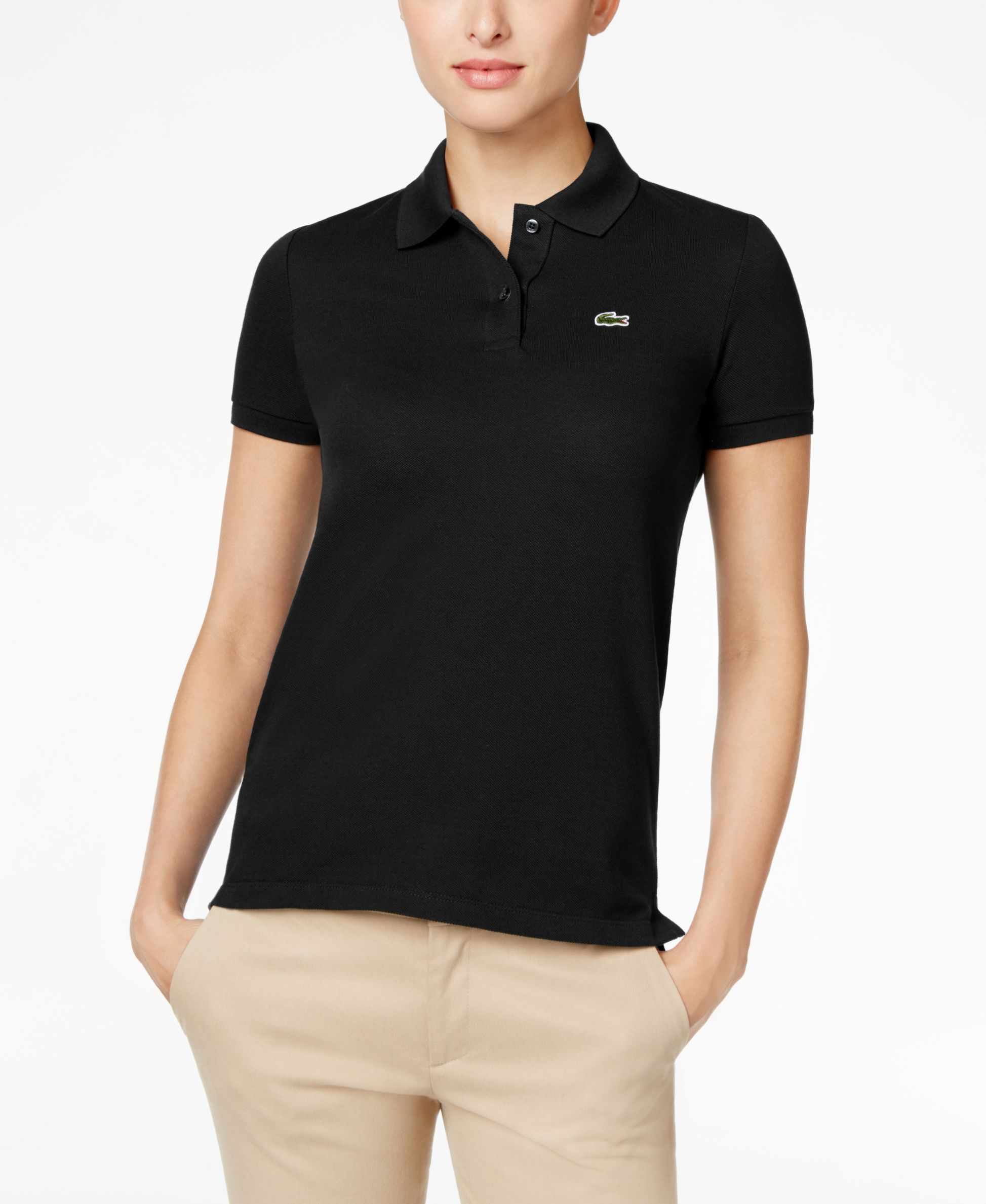 d37c6a465 Lacoste Two-Button Classic-Fit Polo