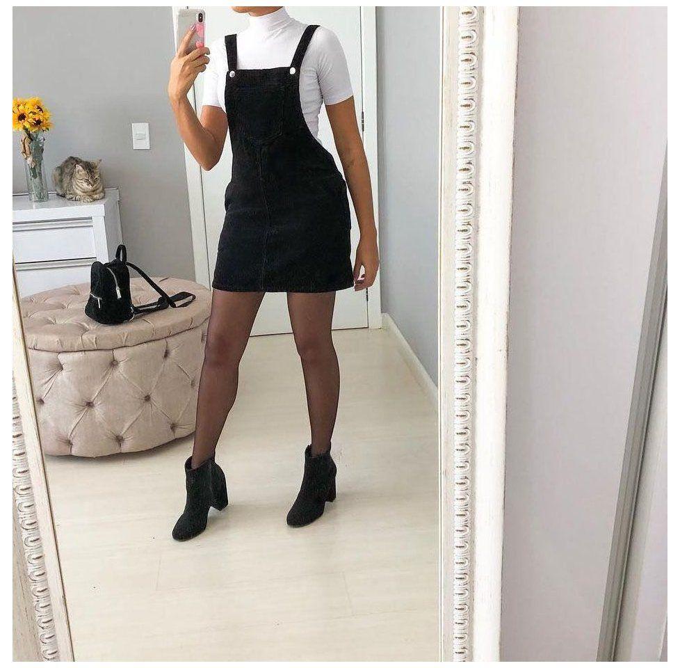 21++ Black overall dress ideas