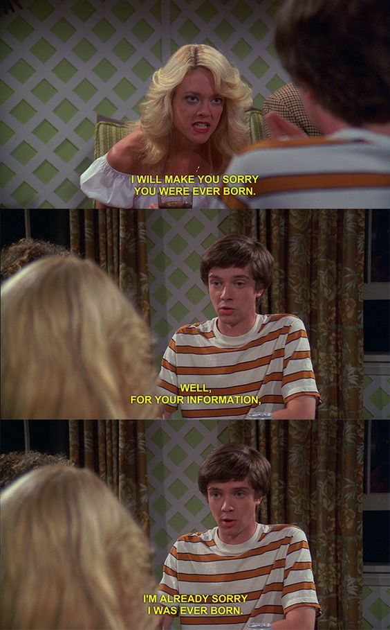 "23 Of The Best Burns From ""That 70s Show"""