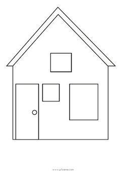 Nieuw tekening huis - Google zoeken (met afbeeldingen) | Kleurplaten SA-62