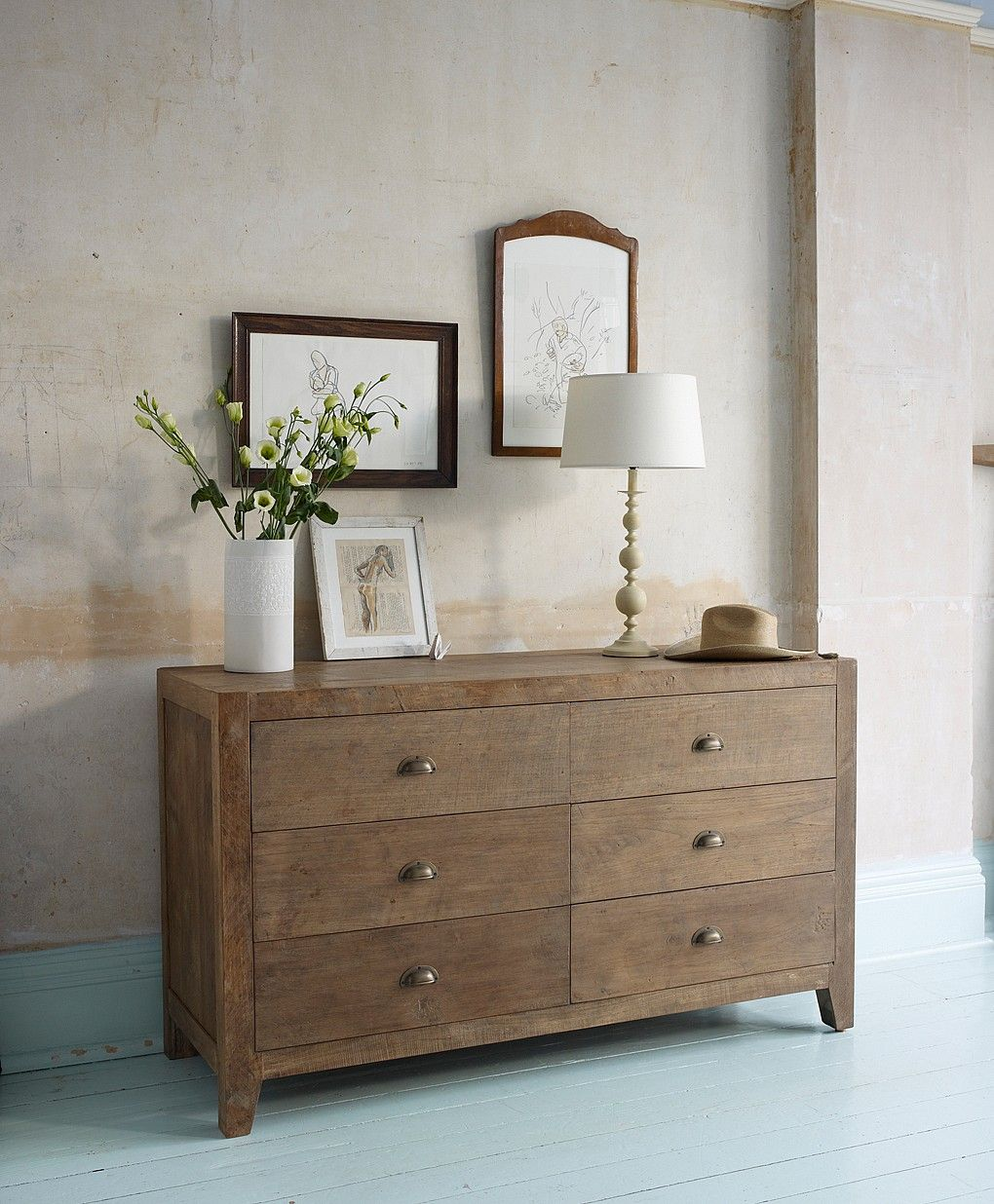 Sumatra Large Chest of Wooden Drawers from Lombok