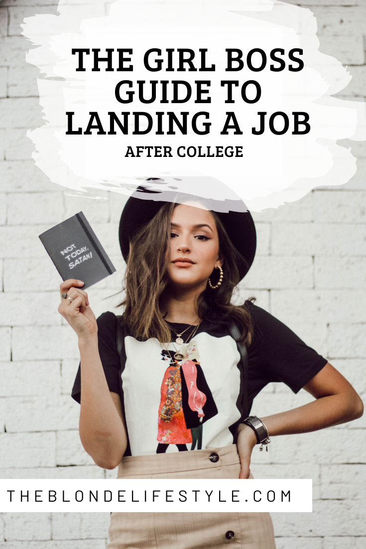 The College Girl S Guide To Preparing For The Work Force College Job Girl Boss Graduate Jobs