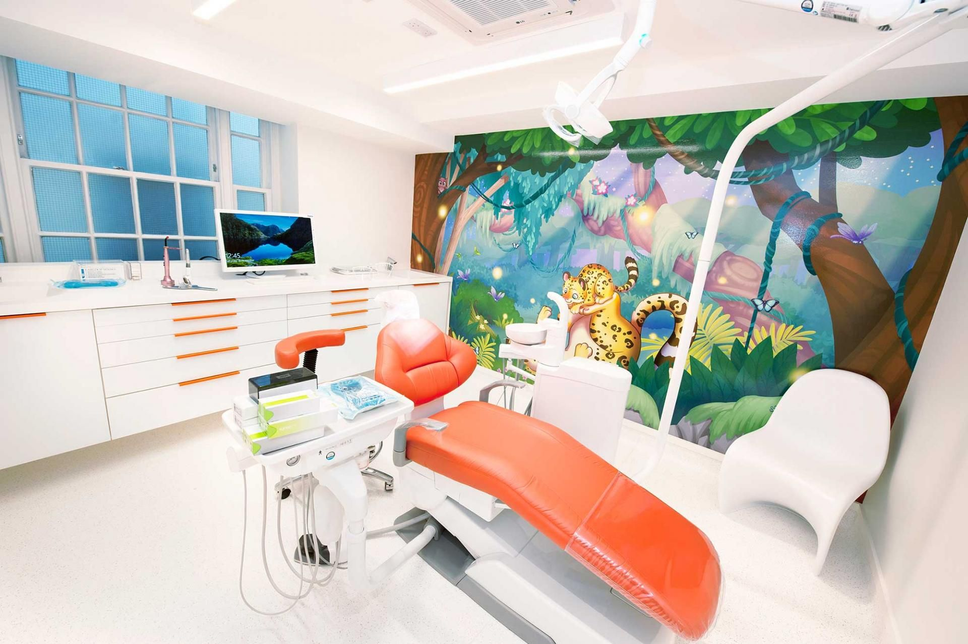 Luxury London Happy Kids Dental Pediatric Dentist Childrens Dentist Dentist