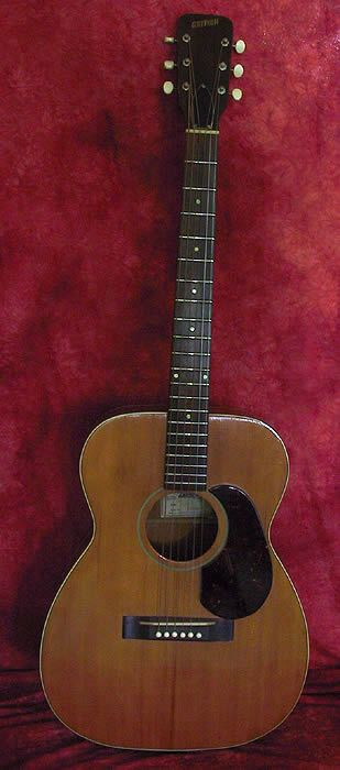 Gretsch 1956 Acoustic Model 6003 Natural Finish Brazilian