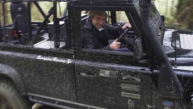 Hammond shows us round his favourite Defender - BBC Top Gear