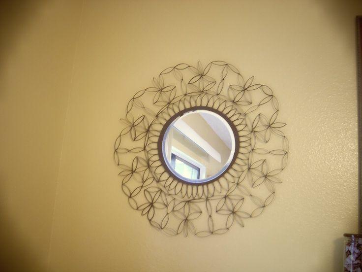 Paper towel roll art | crafts | DIY Wall Decor / Wreaths | Pinterest ...