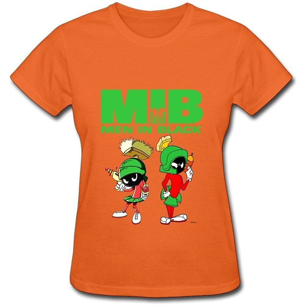 Huba Women S Tees Men In Blackarvin The Martian Orange Twomen 03156 17 90 Mens Tees Womens Tees Tees