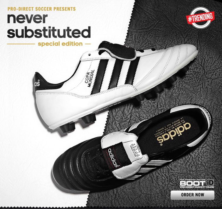 adidas Copa Mundial never substituted Chaussures Germany Pinterest
