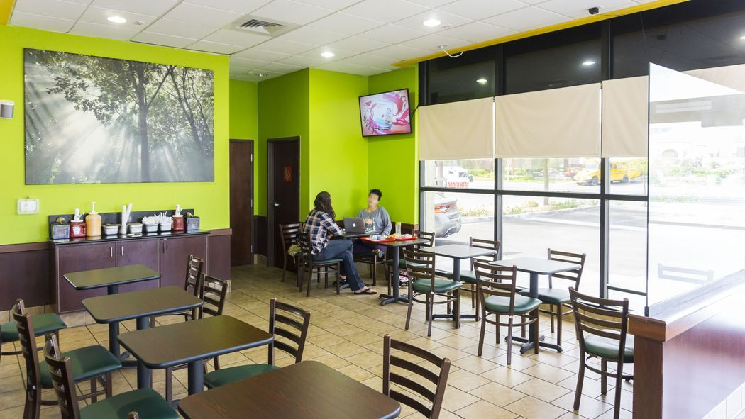 Your first look inside las vegas vegan restaurant with a