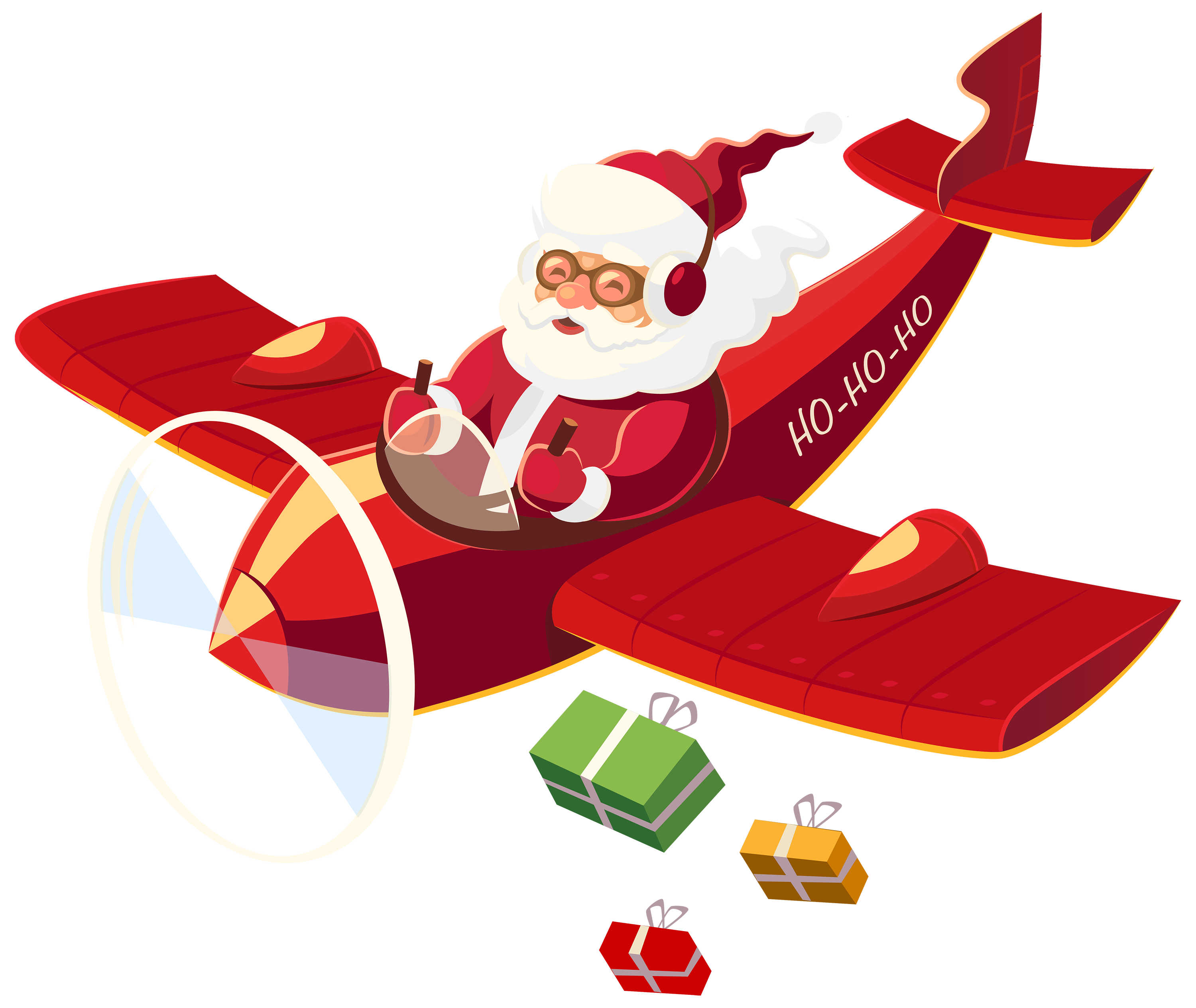 santa claus with plane png clipart xmas pinterest noel planes rh pinterest co uk santa claus clip art pictures santa clause clipart