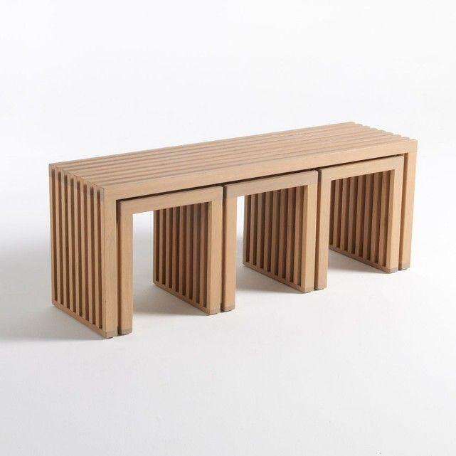 Ensemble De Jardin Encastrable 4 Pieces Amalia Table Basse Exterieur Meubles En Marbre Mobilier De Salon