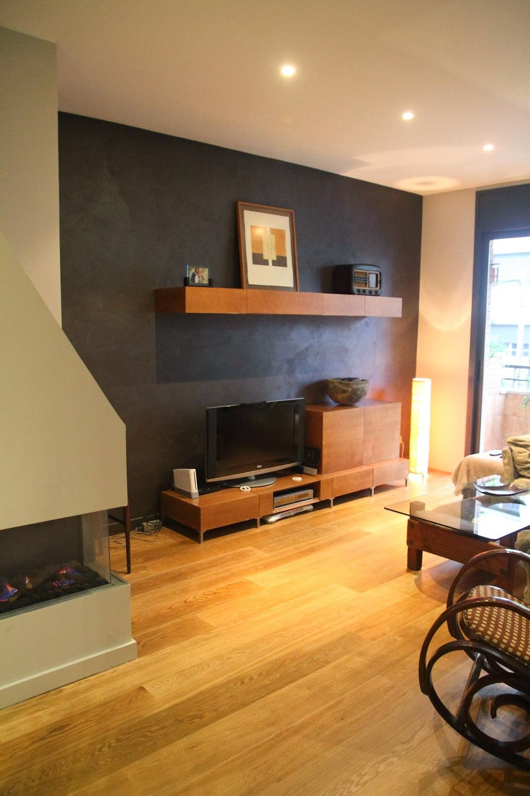 Federico Centarti Studio: Restauración piso completo, 90 m2   2013 - Microcemento, Antico Velluto, ideas de pintura.