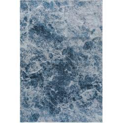 Photo of benuta Trends Flachgewebeteppich Tosca Blau 115×180 cm – Moderner Teppich für Wohnzimmer