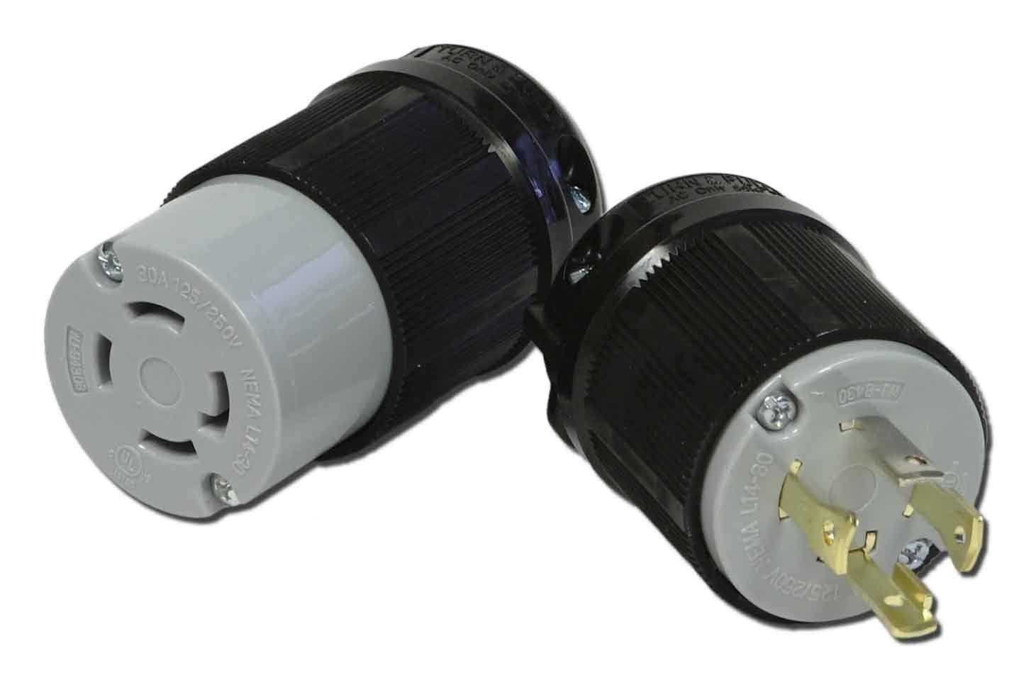 NEMA L14-30 Connector Powertronics Connections