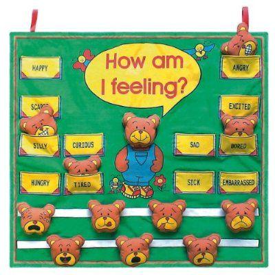 Get Ready Kids Feelings Wall Chart