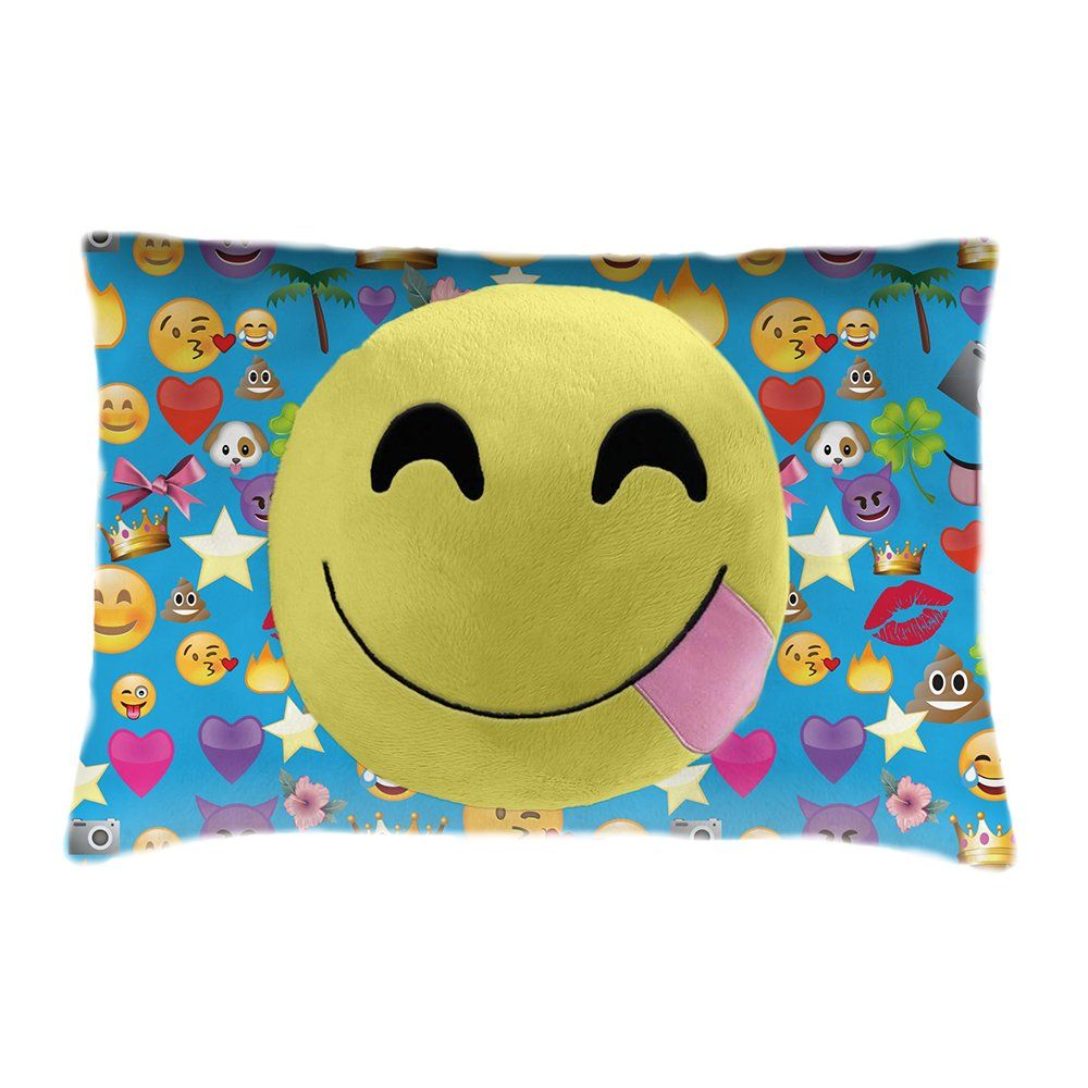 Pillow Pets Smileys Smiley Face Stuffed Animal Plush Toy Read More At The Image Link It Is An Affilia Animal Pillows Chenille Throw Pillows Emoji Pillows