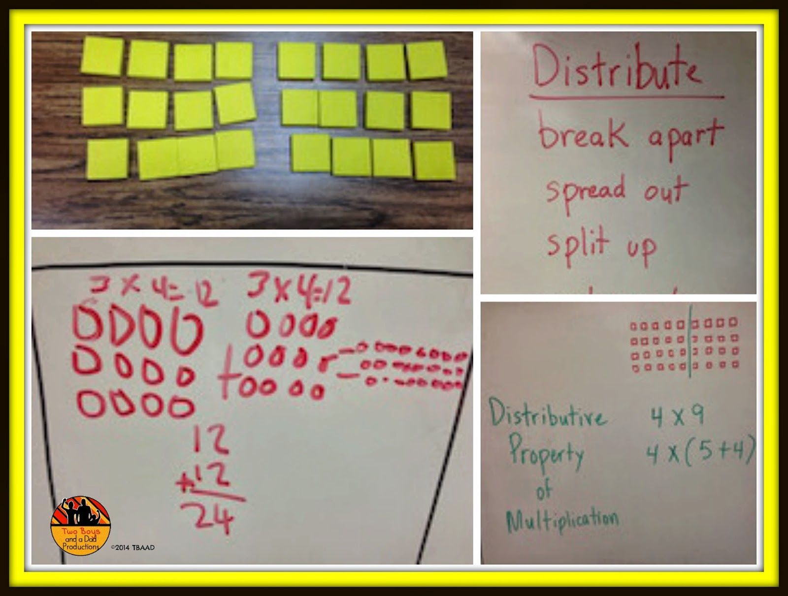 Teaching The Distributive Property Of Multiplication Doesn