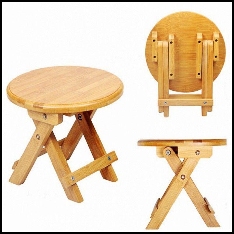 Swell Environmental Bamboo Made Small Benches Creative Fold Evergreenethics Interior Chair Design Evergreenethicsorg