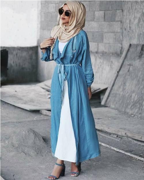 4b42333b1c1f Long open cardigans hijab style – Just Trendy Girls