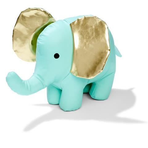 faux Leather Elephant plush Hb16y10011kmas