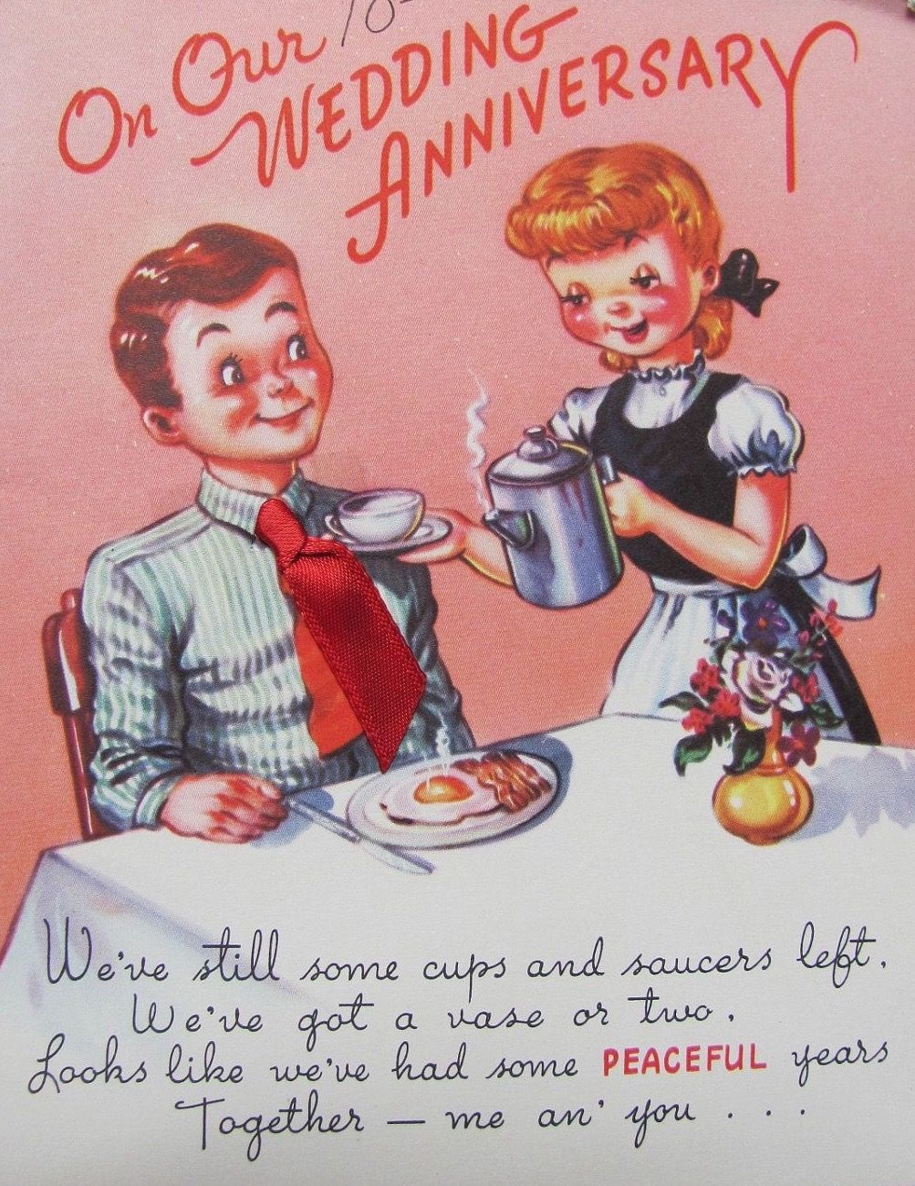Pin By Daniele On Vintage Anniversary Cards Pinterest Vintage