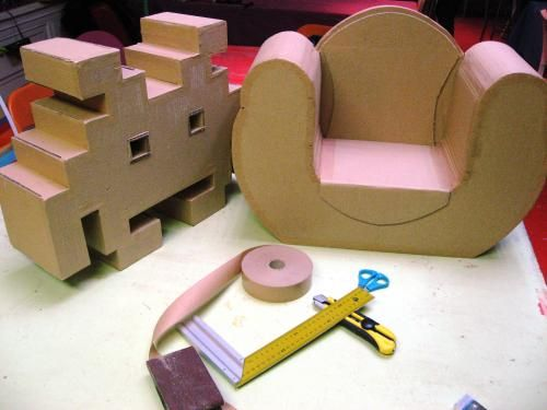23 awesome meuble en carton patron gratuit images - Patron meuble en carton gratuit ...
