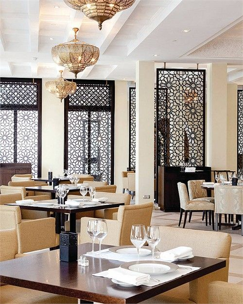 Gorgeous interior design in marrakech love the grilles