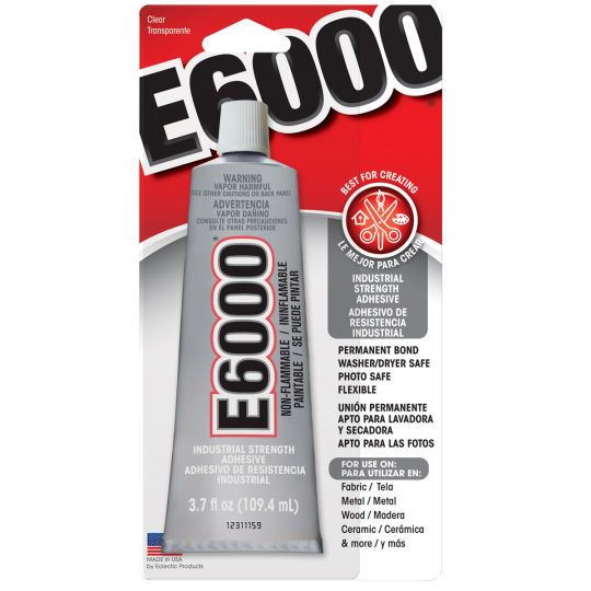 E6000 Permanent Craft Adhesive 3 7 Oz Michaels Glue Crafts Photo Transfer To Wood Adhesive